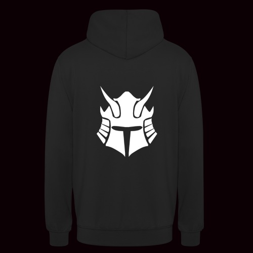 SweatShirt Blanc Samurai GRMNR - Sweat-shirt à capuche unisexe