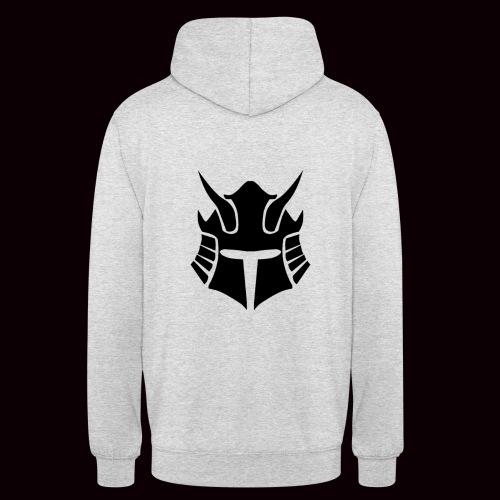 SweatShirt Noir Samurai GRMNR - Sweat-shirt à capuche unisexe