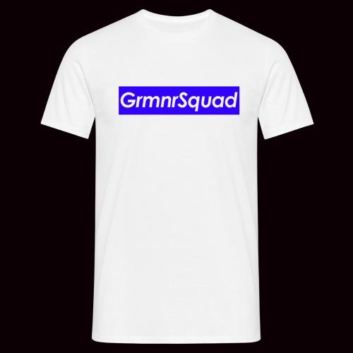 Tee Shirt LOGOBOX GRMNR bleu Marine  - T-shirt Homme