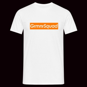 Tee Shirt LOGOBOX GRMNR Orange - T-shirt Homme