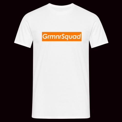 Tee Shirt LOGOBOX GRMNR Orange - T-shirt Homme