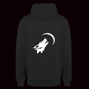 SweatShirt MOONWOLF White GRMNR - Sweat-shirt à capuche unisexe