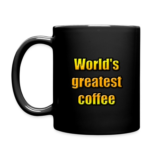World's greatest coffee (Black Edition) - Mug uni