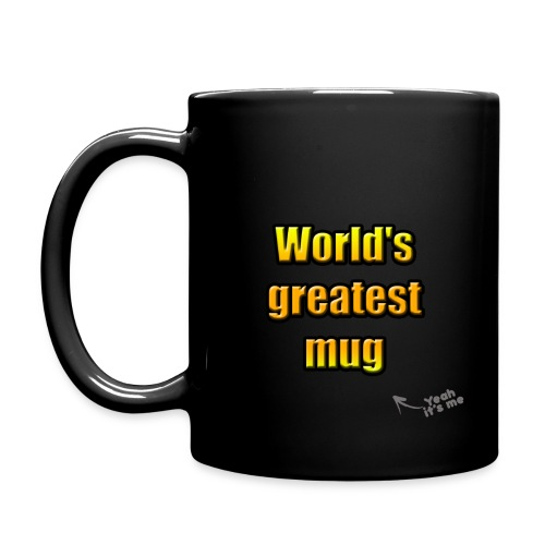 World's greatest mug (Black Edition) - Mug uni