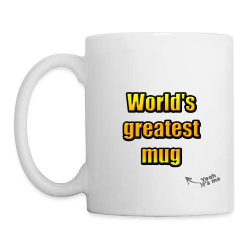 World's greatest mug (White Edition) - Mug blanc