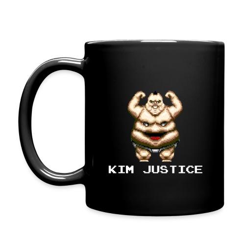 Kim Justice Fatman Logo Mug - Full Colour Mug