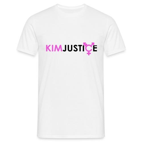 Kim Justice Logo - Men's T-Shirt - Men's T-Shirt