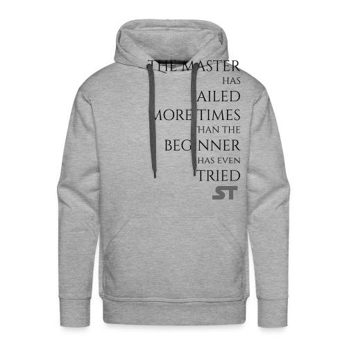 Master & Beginner - Männer Premium Hoodie