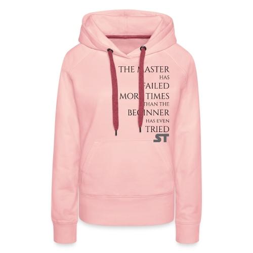 Master & Beginner - Frauen Premium Hoodie