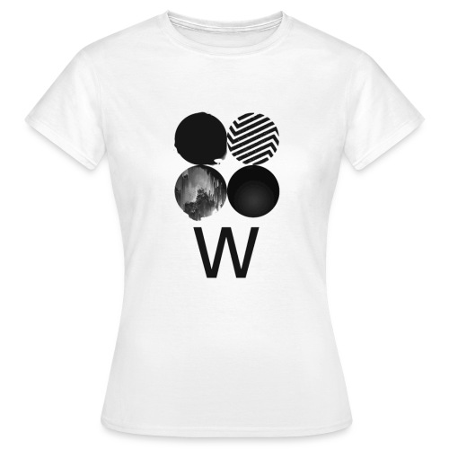 BTS-WINGS ver W Tee Shirt  - T-shirt Femme
