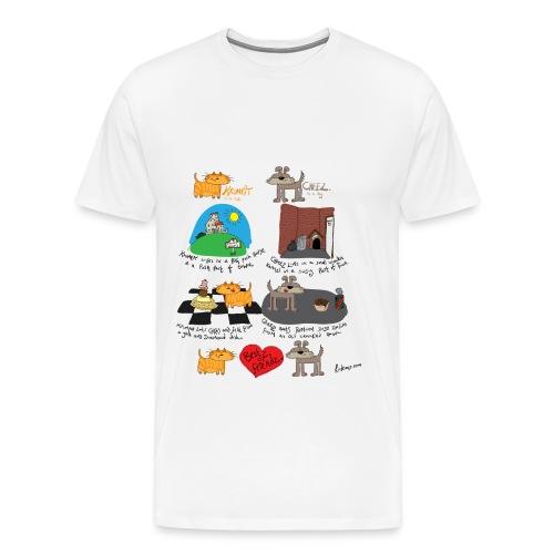 Krumpit and Cheez - Mens Premium Tee - Men's Premium T-Shirt