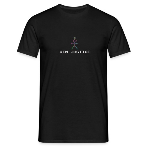Kim Justice Stickperson Men's T-Shirt  - Men's T-Shirt