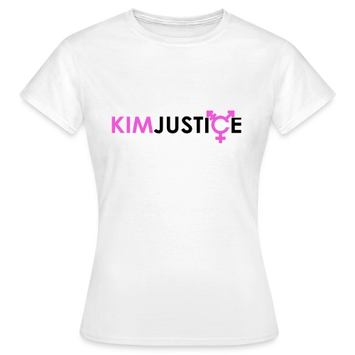 Kim Justice Logo - Women's T-Shirt - Women's T-Shirt