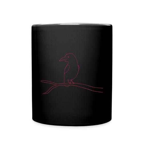Waldgeist Tasse Rabe - Tasse einfarbig