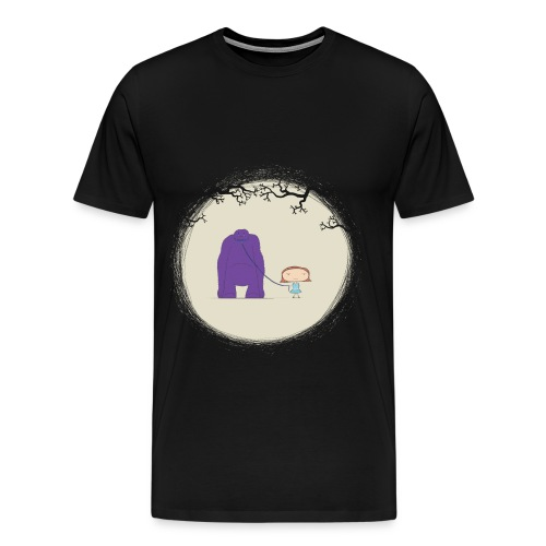 My Pet Demon - Mens Premium Tee - Men's Premium T-Shirt