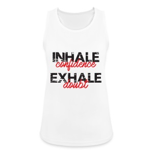 Sports White Vest  - Women's Breathable Tank Top