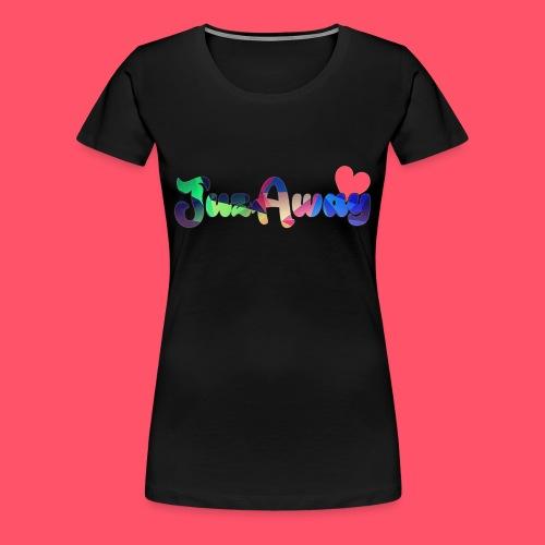 Premium T-Shirt - für Frauen - JuzAway Front - Frauen Premium T-Shirt