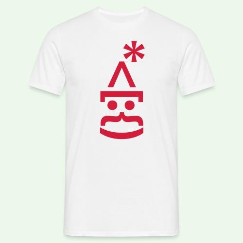 Nikolaus 2.0 Shirt // farbe anpassbar - Männer T-Shirt