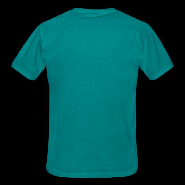 München Koordinaten (Vintage/Schwarz) T-Shirt