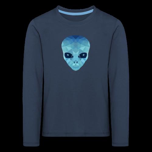 Alien_KidsLang_0 - Kinder Premium Langarmshirt