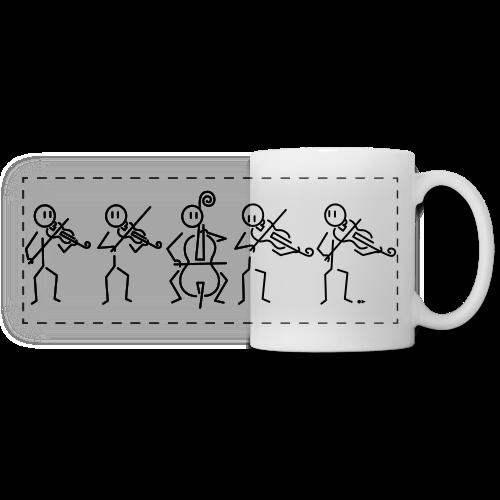 String Quintet (2 violas) - Panoramic Mug
