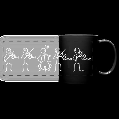 String Quintet (2 violas) - Full Color Panoramic Mug