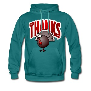 Thanksgiving Turkey Hoodies & Sweatshirts - Mannen Premium hoodie