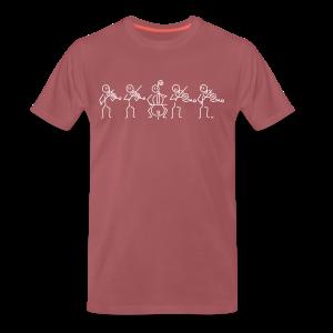 String Quintet (2 violas) - Men's Premium T-Shirt