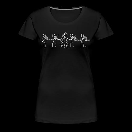 String Quintet (2 violas) - Women's Premium T-Shirt