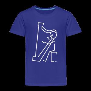 Harpist - Kids' Premium T-Shirt