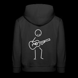 Guitarist - Kids' Premium Hoodie