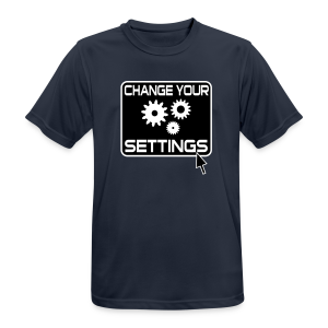Change Settings Nerd Funktionsshirt - Männer T-Shirt atmungsaktiv