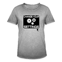 Change Settings Nerd Shirt (Unisex)