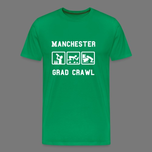 Manchester Grad Crawl - Men's Premium T-Shirt
