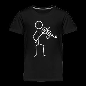 Baroque violinist - Kids' Premium T-Shirt