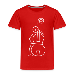 Double bassist - Kids' Premium T-Shirt