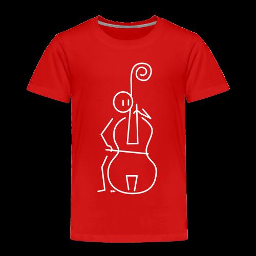 Double bassist - Kids' Premium T-Shirt