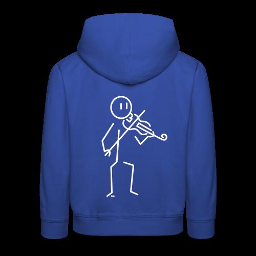 Violinist - Kids' Premium Hoodie