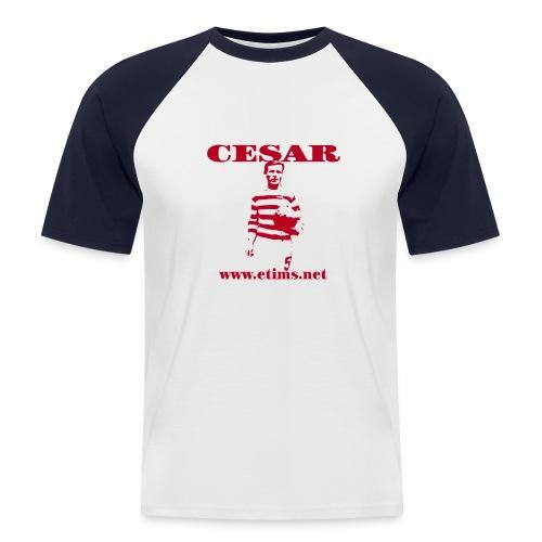Cesar - Raglan Short Sleeve - Men's Baseball T-Shirt
