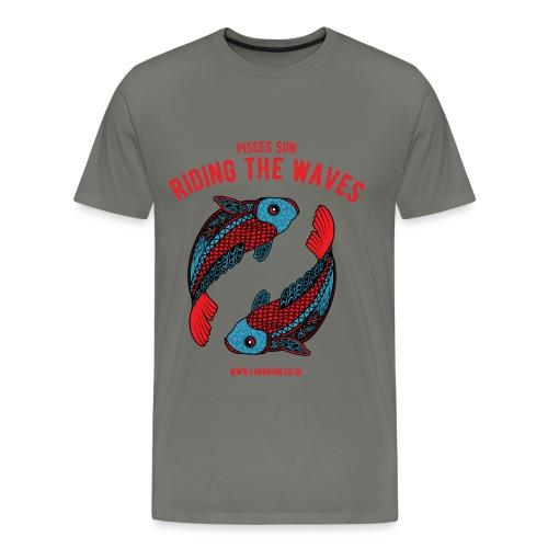 Pisces Sun Men's Premium T-Shirt - Men's Premium T-Shirt