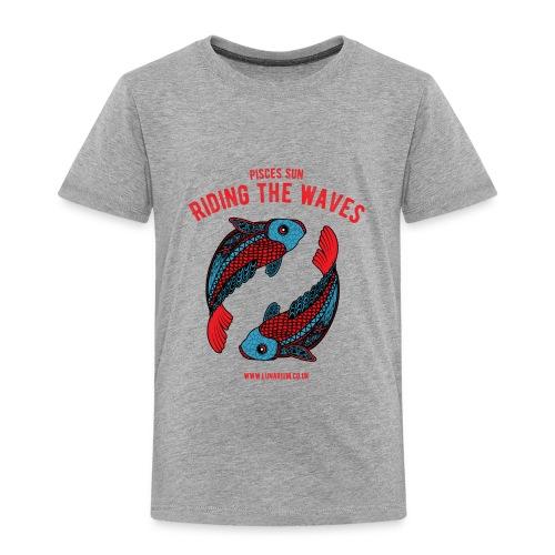 Pisces Sun Kids' Premium T-Shirt - Kids' Premium T-Shirt