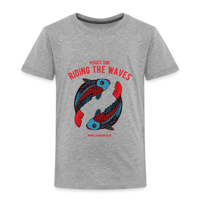 Pisces Sun Kids' Premium T-Shirt