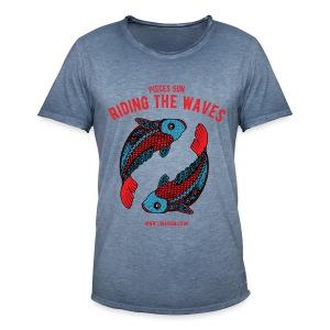 Pisces Sun Men's Vintage T-Shirt - Men's Vintage T-Shirt