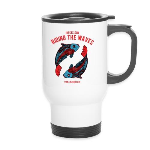 Pisces Sun Travel Mug  - Travel Mug