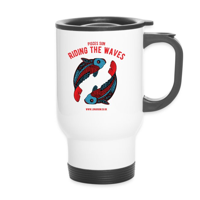 Pisces Sun Travel Mug