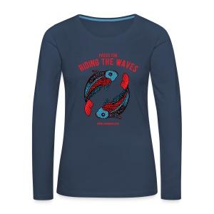Pisces Sun Women's Premium Longsleeve Shirt - Women's Premium Longsleeve Shirt