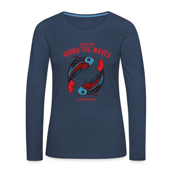 Pisces Sun Women's Premium Longsleeve Shirt