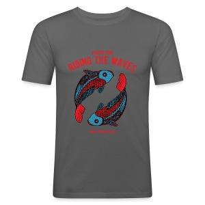Pisces Sun Men's Slim Fit T-Shirt  - Men's Slim Fit T-Shirt