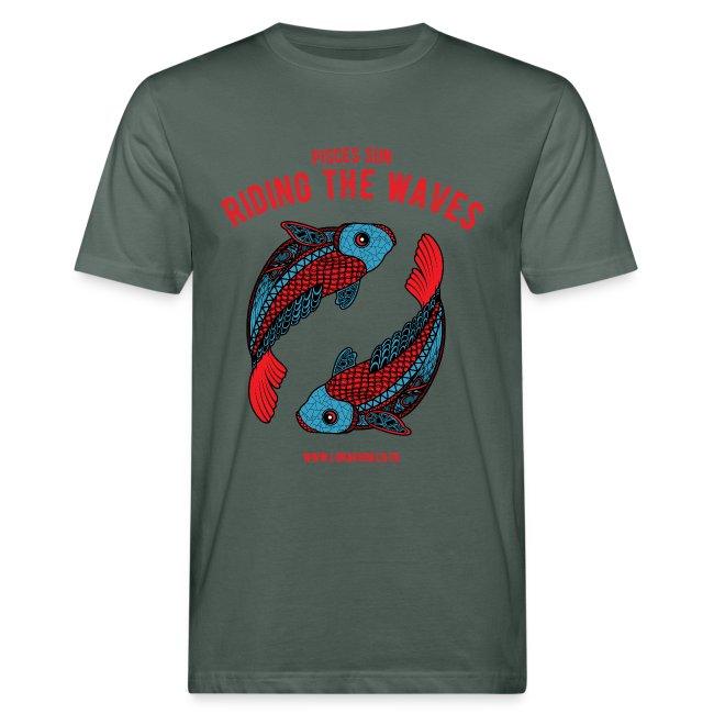 Pisces Sun Men's Organic T-shirt