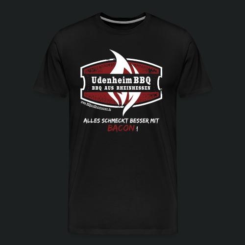 UdenheimBBQ Herrenshirt Bacon - Männer Premium T-Shirt